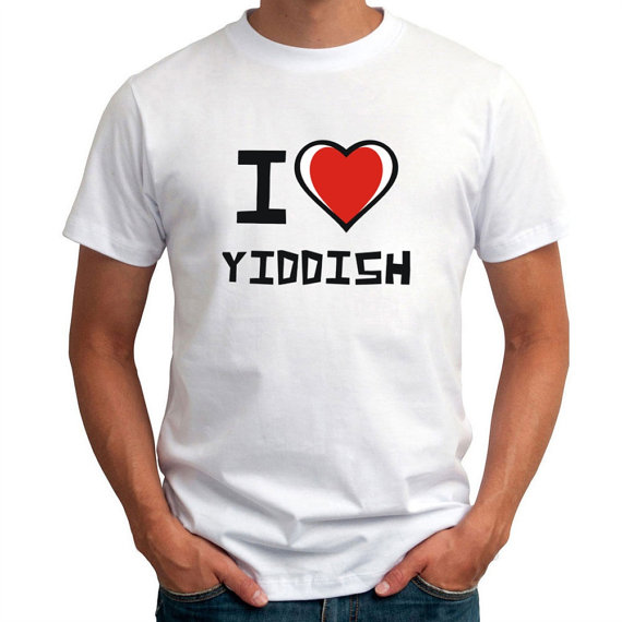 I love yiddish